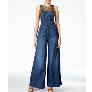 Lucky Brand Wide Leg Overalls / Jumpsuit. XS